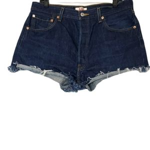 Levi's 501 Original High Rise Jean Shorts 36